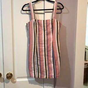 Multi color mini dress